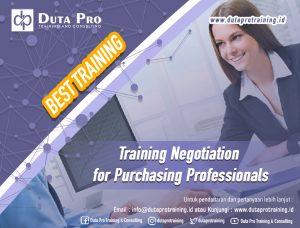 Training Negotiation for Purchasing Professionals Best Training Informasi Pelatihan Duta Pro Training Consulting di Jakarta Bandung Jogja Bali Surabaya Lombok