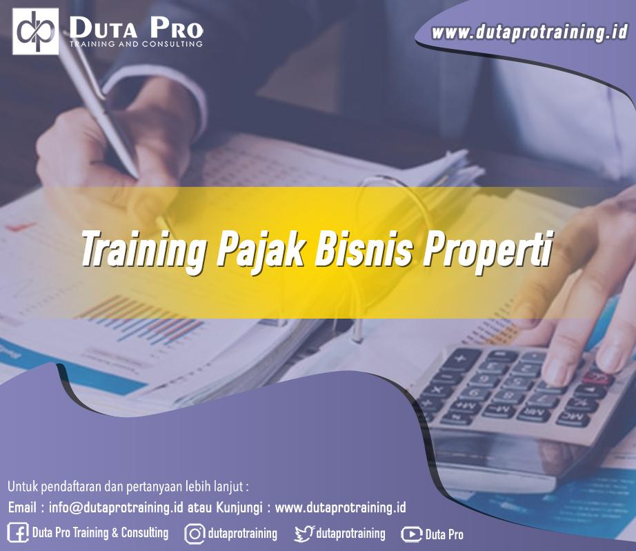 Training Pajak Bisnis Properti