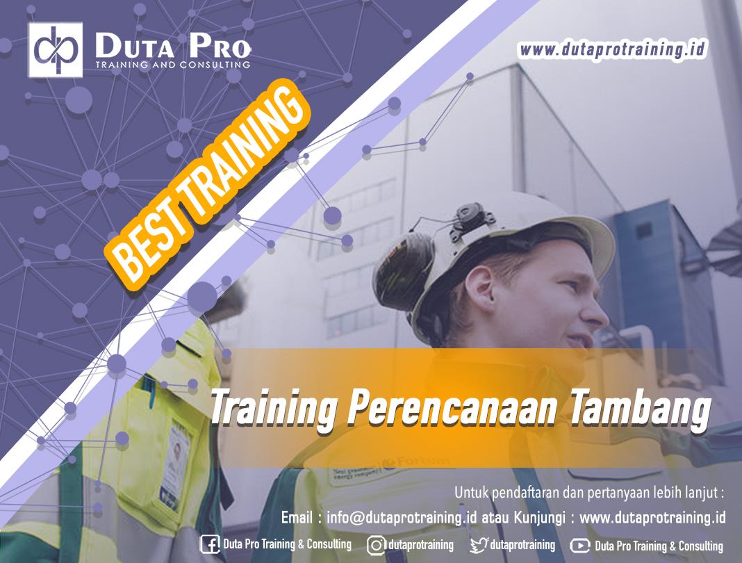 Training Perencanaan Tambang