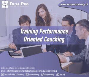Training Performance Oriented Coaching Image Training Duta Pro Training Jakarta Bandung Jogja Bali Surabaya Lombok
