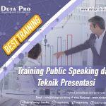 Training Public Speaking dan Teknik Presentasi Best Training Informasi Pelatihan Duta Pro Training Consulting di Jakarta Bandung Jogja Bali Surabaya Lombok