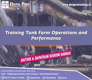 Training Tank Farm Operations and Performance DISKON HARGA Duta Pro Training Jakarta Bandung Jogja Bali Surabaya Lombok
