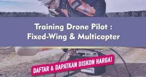 Training Drone Pilot : Fixed-Wing & Multicopter