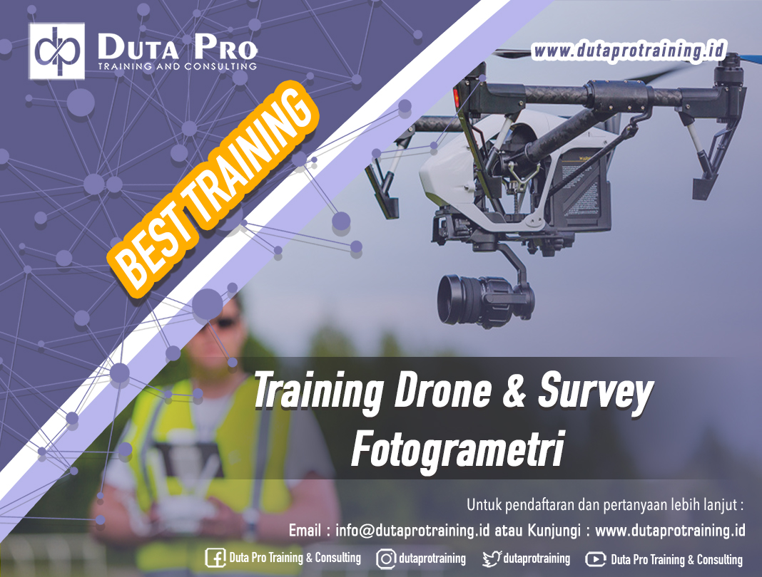 Training Drone & Survey Fotogrametri