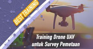Training Drone UAV untuk Survey Pemetaan
