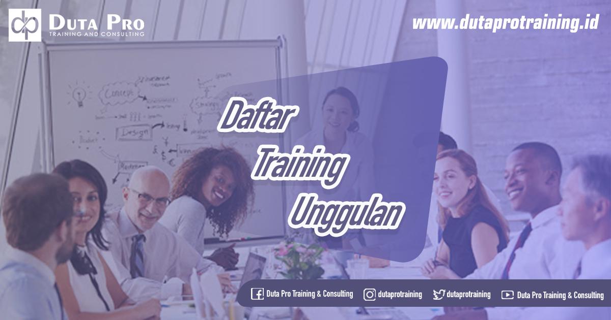 Daftar Training Unggulan