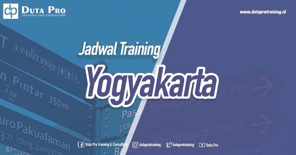 Jadwal Training di Jogja