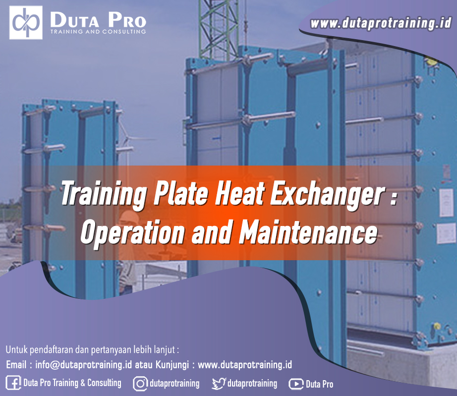 Training Plate Heat Exchanger – Operation and Maintenance