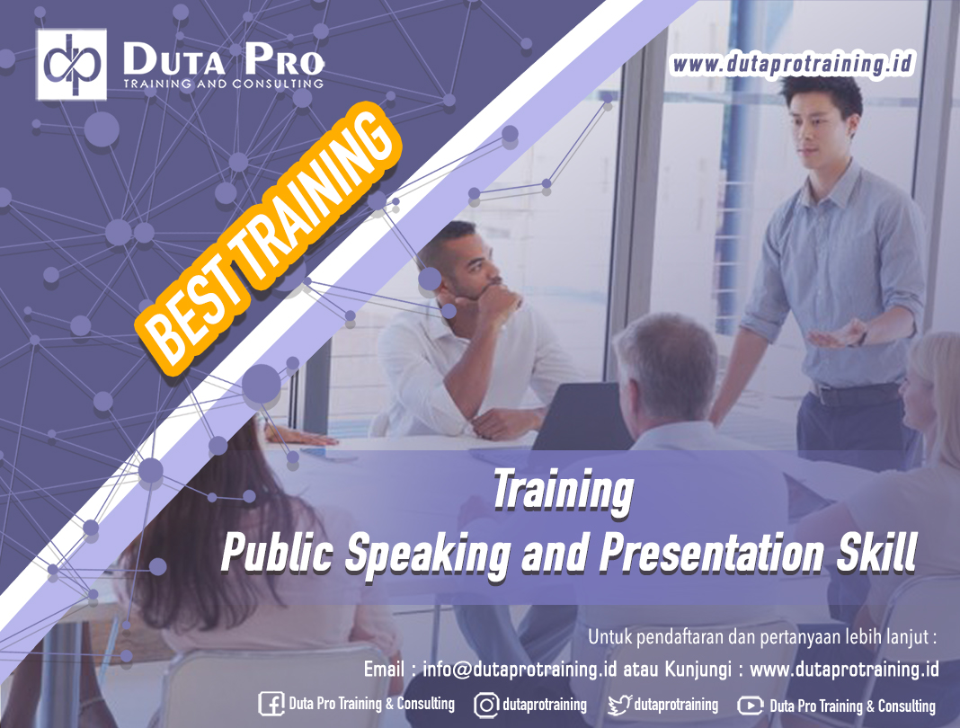 Training Public Speaking and Presentation Skill