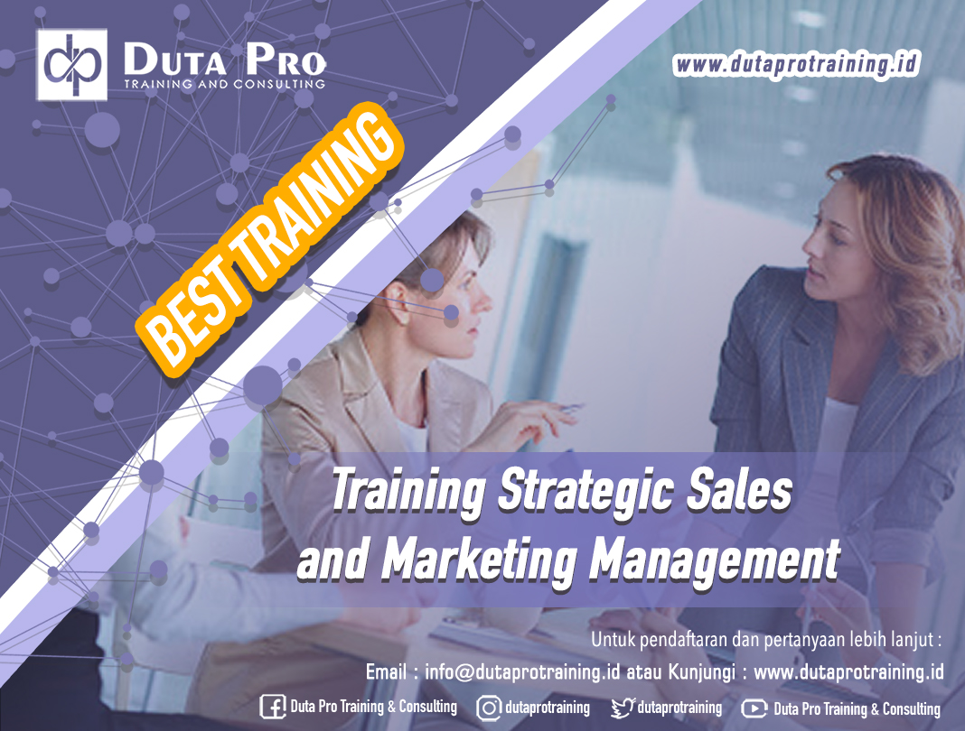 Training Strategic Sales and Marketing Management