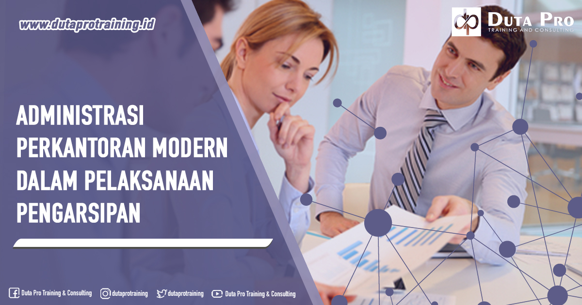Training Administrasi Perkantoran Modern dalam Pelaksanaan Pengarsipan