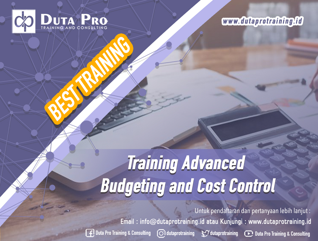 Training Advanced Budgeting and Cost Control