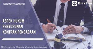 Training Aspek Hukum Penyusunan Kontrak Pengadaan