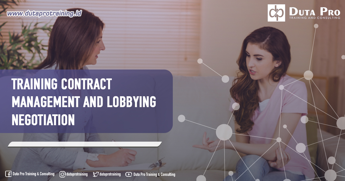 Training Contract Management and Lobbying Negotiation