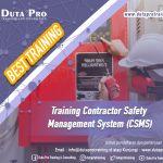 Training Contractor Safety Management System (CSMS) Best Training Informasi Pelatihan Duta Pro Training Consulting di Jakarta Bandung Jogja Bali Surabaya Lombok