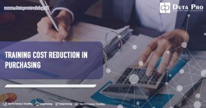 Training Cost Reduction in Purchasing