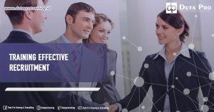 Training Effective Recruitment