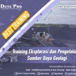 Training Eksplorasi dan Pengelolaan Sumber Daya Geologi Best Training Informasi Pelatihan Duta Pro Training Consulting di Jakarta Bandung Jogja Bali Surabaya Lombok