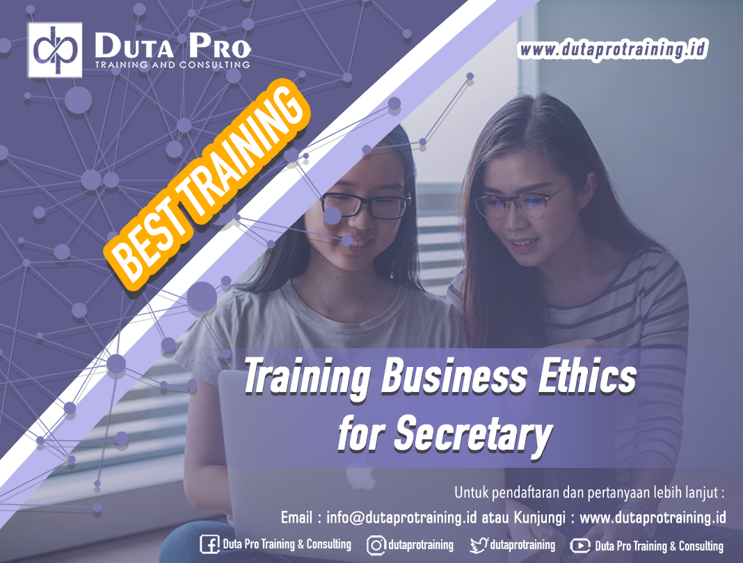 Training Business Ethics for Secretary