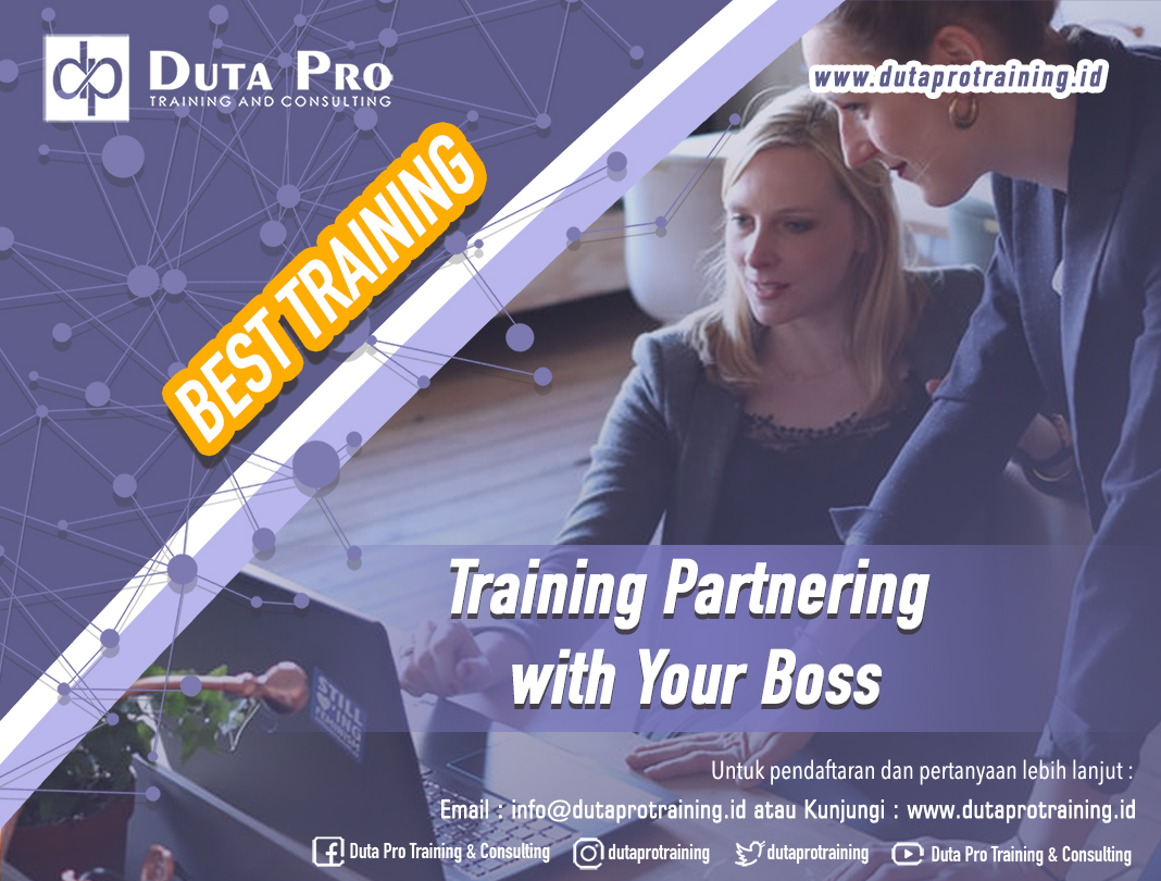 Training Partnering with Your Boss