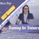 Training for Trainers Best Training Informasi Pelatihan Duta Pro Training Consulting di Jakarta Bandung Jogja Bali Surabaya Lombok