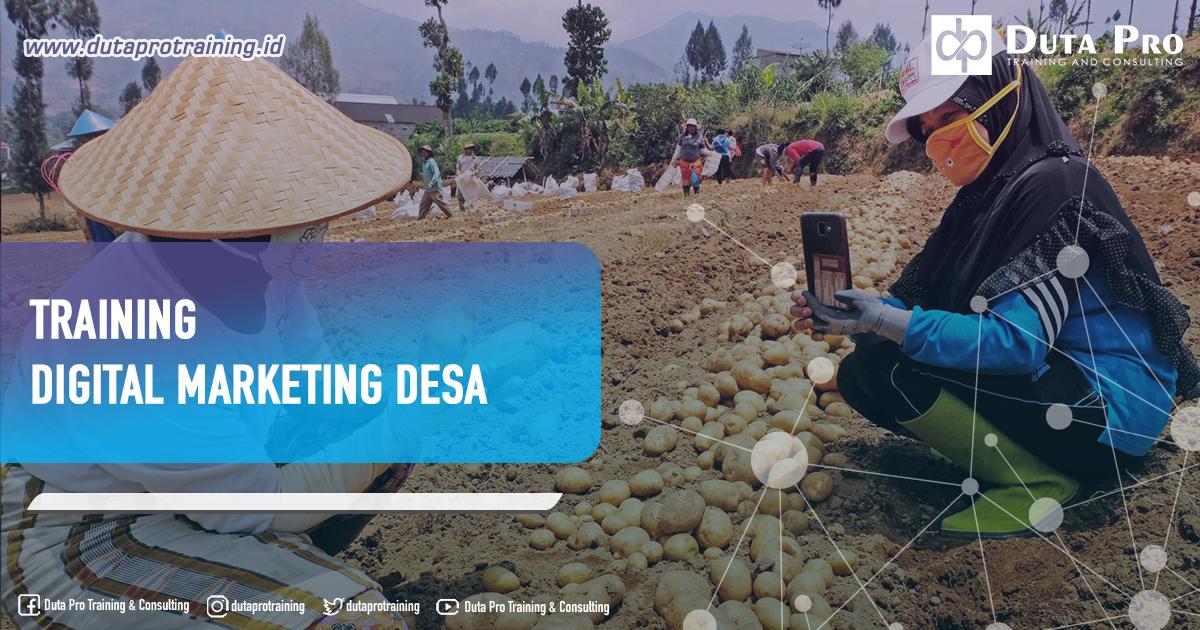 Training Digital Marketing Desa