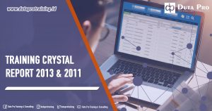 Training Crystal Report 2013 & 2011