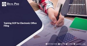Training SOP for Electronic Office Filing